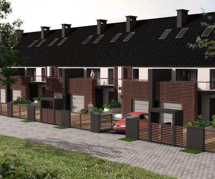 Osiedle domów w Radwanicach
